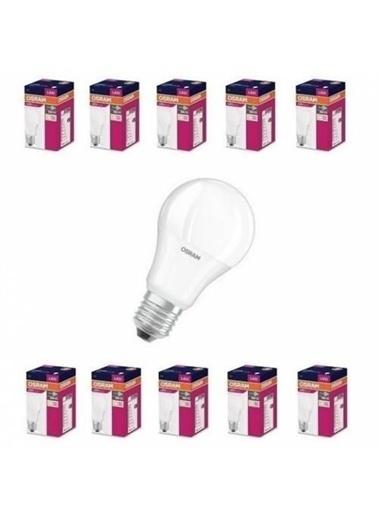 Osram 8,5 Watt 806 Lumen E-27 Duy 6500K Beyaz Işık Led Ampul 10 Adet Renksiz